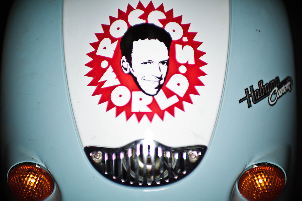 15 NOV 2011 - Budapest (Ungheria) - Oggetti ed accessori nei locali della produzione di Rocco Siffredi, attore e produttore porno, nella sua tenuta vicino a casa.