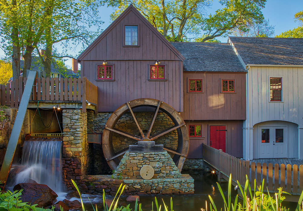 The Jenney Grist Mill is located in Plymouth, MA and the photography image was taken on a beautiful late afternoon displaying beautiful New England spring colors. Plimoth Grist Mill Massachusetts photography pictures are available as museum quality photo, canvas, acrylic, wood or metal prints. Wall art prints may be framed and matted to the individual liking and interior design decoration needs:<br /> <br /> https://juergen-roth.pixels.com/featured/jenney-grist-mill-juergen-roth.html<br /> <br /> Good light and happy photo making!<br /> <br /> My best,<br /> <br /> Juergen