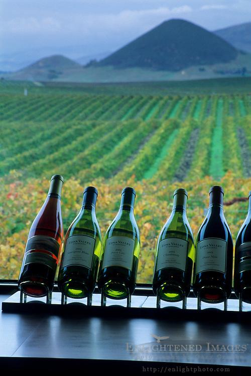 Edna Valley Vineyards tasting room, Edna Valley, near San Luis Obispo, San Luis Obispo County, California