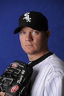 GLENDALE, AZ - FEBRUARY 27:  Jake Peavy of the Chicago White Sox poses for a portrait on February 27, 2010 at Camelback Ranch in Glendale, Arizona.