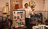 Sharon Lavigne at her house in St. James Parish, Louisana, two miles from where Formosa plants to build a petrochemcial facility .