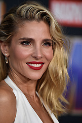 Elsa Pataky attends the world premiere of Walt Disney Studios Motion Pictures 'Avengers: Endgame' at the Los Angeles Convention Center on April 22, 2019 in Los Angeles, CA, USA. Photo by Lionel Hahn/ABACAPRESS.COM