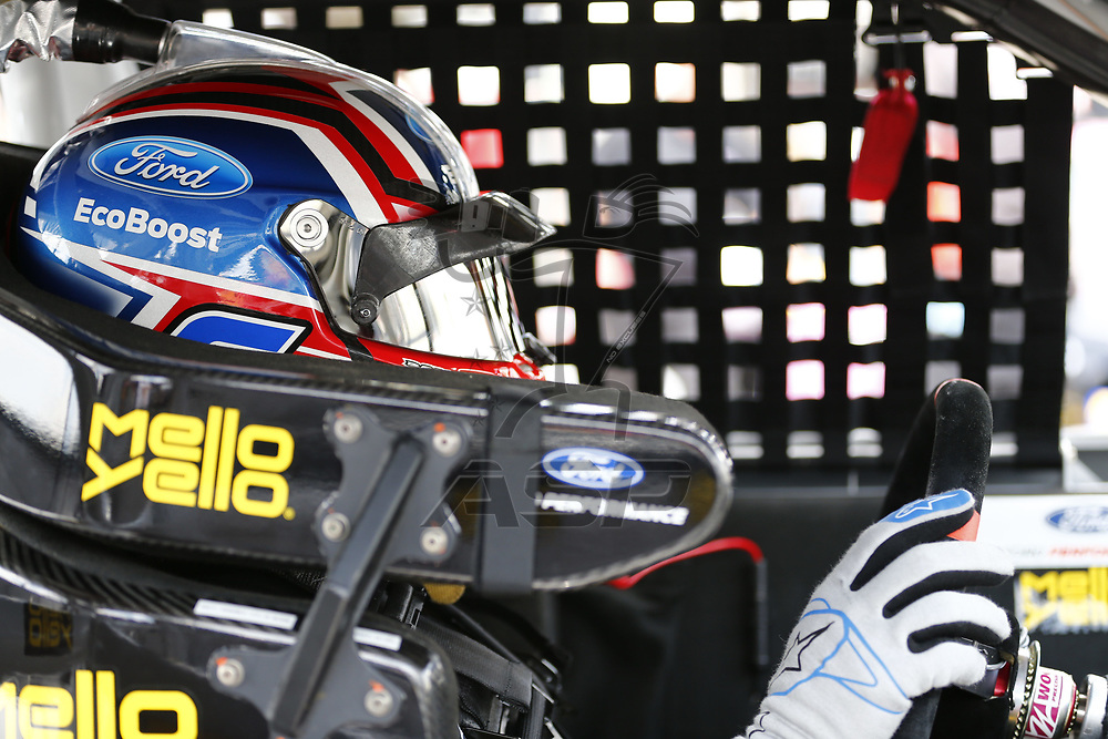 April 28, 2017 - Richmond, Virginia, USA: The NASCAR Xfinity Series teams take to the track to practice for the ToyotaCare 250 at Richmond International Speedway in Richmond, Virginia.