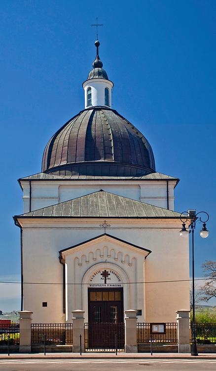 Kaplica kościoła ewangelicko-augsburskiego w Nowym Sączu, Polska<br /> Chapel of Evangelical-Augsburg Church in Nowy Sącz, Poland