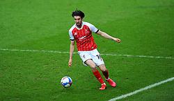 Finn Azaz of Cheltenham Town presses forward with the ball- Mandatory by-line: Nizaam Jones/JMP - 20/02/2021 - FOOTBALL - Jonny-Rocks Stadium - Cheltenham, England - Cheltenham Town v Bradford City - Sky Bet League Two