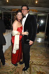 The HON.SELINA TOLLEMACHE and ANDREW WESSELS at the Chain of Hope Ball held at The Dorchester, Park Lane, London on 4th February 2008.<br /><br />NON EXCLUSIVE - WORLD RIGHTS