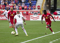 September 22, 2018 - Harrison, New Jersey, United States - Daniel Royer (77) of New York Red Bulls controls ball during regular MLS game against Toronto FC at Red Bull Arena Red Bulls won 2 - 0 (Credit Image: © Lev Radin/Pacific Press via ZUMA Wire)