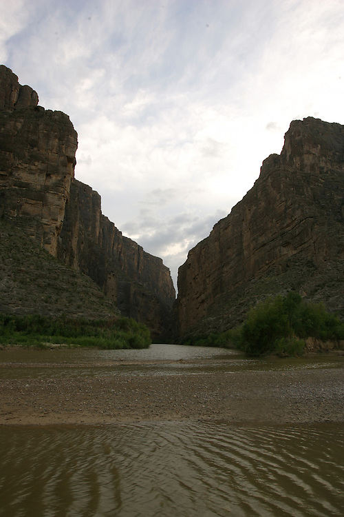 Santa Elena Canyon, Big Bend National Park (Mexico is on the left)