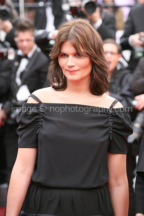 Marina Hands, actress, arriving at the Vous N'Avez Encore Rien Vu gala screening at the 65th Cannes Film Festival France. Monday 21st May 2012 in Cannes Film Festival, France.