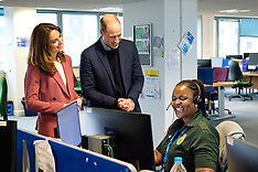 The Duke and Duchess of Cambridge visit the London Ambulance Service