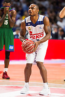 Real Madrid's player Dontaye Draper during match of Liga Endesa at Barclaycard Center in Madrid. September 30, Spain. 2016. (ALTERPHOTOS/BorjaB.Hojas)