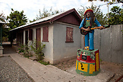 Trenchtown Culture Yard, where Bob Marley lived when he first moved to Kingston, Jamaica.