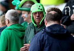 London Irish fans - Mandatory by-line: Robbie Stephenson/JMP - 17/05/2017 - RUGBY - Headingley Carnegie Stadium - Leeds, England - Yorkshire Carnegie v London Irish - Greene King IPA Championship Final 1st Leg