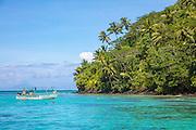 Motu Vaiorea, Bourayne Bay, Huahine, French Polynesia