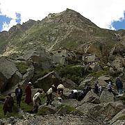 Tibetan people.