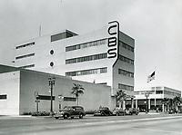 1941 CBS Radio on Sunset Blvd.
