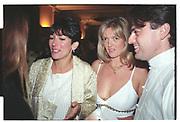 Ghislaine Maxwell, Annabel Heseltine, China Ball. London. 21 June 1997