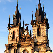 Church of Our Lady Before Tyn in Prague's Old Town Square