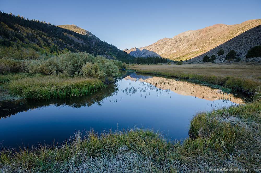 Morning light on Monument Ridge above Green Creek, Green Creek Wildlife Area and Toiyabe National Forest, California