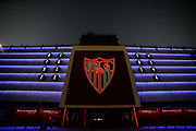 General outside view during the UEFA Champions League, Group Stage, Group E football match between Sevilla FC and Stade Rennais on October 28, 2020 at Ramon Sanchez-Pizjuan stadium in Sevilla, Spain - Photo Joaquin Corchero / Spain ProSportsImages / DPPI / ProSportsImages / DPPI