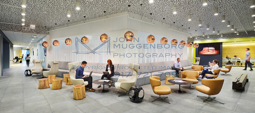 The Initiative advertising agency office in NYC photographed by John Muggenborg.<br /> <br /> http://www.johnmuggenborg.com