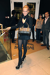 TARA PALMER-TOMKINSON at the MCM Christmas party held at their store at 5 Sloane Street, London on 26th November 2008.