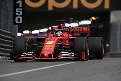 May 23, 2019 - Monte Carlo, Monaco - xa9; Photo4 / LaPresse.23/05/2019 Monte Carlo, Monaco.Sport .Grand Prix Formula One Monaco 2019.In the pic: Sebastian Vettel (GER) Scuderia Ferrari SF90 (Credit Image: © Photo4/Lapresse via ZUMA Press)