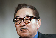 Senator S.I. Hayakawa, R. CA in April 1970 Photo by Dennis Brack bb72