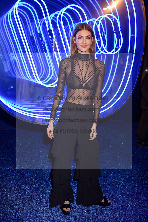 Eve Delf at the Warner Music & Ciroc Brit Awards party, Freemasons Hall, 60 Great Queen Street, London England. 23 February 2017.