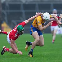 Clare's Aidan McCarthy gets away from Cork's Aidan Walsh