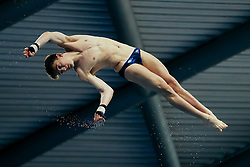 Matty Lee from City of Leeds Diving Club competes in the Mens 10m Platform Preliminary - Mandatory byline: Rogan Thomson/JMP - 12/06/2016 - DIVING - Ponds Forge - Sheffield, England - British Diving Championships 2016 Day 3.