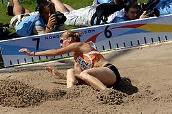 08-08-2006 ATLETIEK: EUROPEES KAMPIOENSSCHAP: GOTHENBORG <br /> Karin Ruckstuhl wint de zilveren medaille Meerkamp<br /> ©2006-WWW.FOTOHOOGENDOORN.NL
