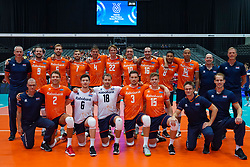 09-08-2019 NED: FIVB Tokyo Volleyball Qualification 2019 / Netherlands, - Korea, Rotterdam<br /> First match pool B in hall Ahoy between Netherlands - Korea (3-2) for one Olympic ticket / Team Netherlands