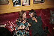 Emily Oppenheimer-Turner and Claudia Winkleman,  Charles Finch and Chanel 7th Anniversary Pre-Bafta party to celebratew A Great Year of Film and Fashiont at Annabel's. Berkeley Sq. London W1. 10 February 2007. -DO NOT ARCHIVE-© Copyright Photograph by Dafydd Jones. 248 Clapham Rd. London SW9 0PZ. Tel 0207 820 0771. www.dafjones.com.