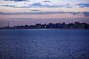 Porto Alegre_RS, Brasil...Por do sol do Rio Guaiba em Porto Alegre, Rio Grande do Sul...Sunset in Guaiba river in Porto Alegre, Rio Grande do Sul...Foto: Bruno Magalhaes / Nitro