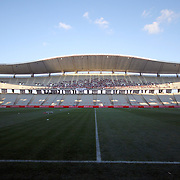 A general view Ataturk Olympic stadium seen during their Turkish Superleague soccer match IBBSK between Besiktas at the Ataturk Olympic stadium in Istanbul Turkey on Sunday 19 August 2012. Photo by TURKPIX