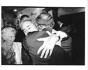 Two E x Times editors. Andrew Neil and Harry Evans. Andrew Neil book party. Daphne's. Draycott Ave, London. 28 October 1996. © Copyright Photograph by Dafydd Jones 66 Stockwell Park Rd. London SW9 0DA Tel 020 7733 0108 www.dafjones.com