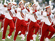 September 3, 2009; Ames, IA, USA; Iowa State Cyclones performs their pre-game marching show prior to kickoff against the North Dakota State Bison at Jack Trice Stadium in Ames. Iowa State defeated North Dakota State 34-17. Mandatory Credit: Crystal LoGiudice-US PRESSWIRE ..