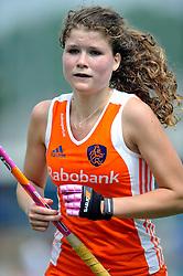 06-06-2011 HOCKEY: NEDERLAND - AZERBEIDZJAN: UTRECHT<br /> Roos Drost<br /> ©2011-FotoHoogendoorn.nl