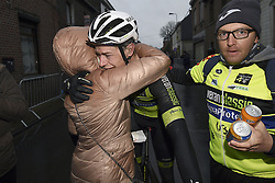 March 1, 2017 - Dour, Belgique - DOUR, BELGIUM - MARCH 1 : KIRCH Alex (LUX) Rider of WB Veranclassic AquaProtect during the 49th Grand Prix Samyn cycling race with start in Quaregnon and finish in Dour on March 01, 2017 in Dour, Belgium, 1/03/2017 (Credit Image: © Panoramic via ZUMA Press)