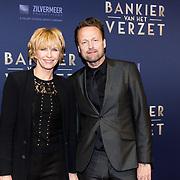 NLD/Amsterdam/20180305 - Première Bankier van het Verzet, Anita Witzier en partner Michel Nillesen