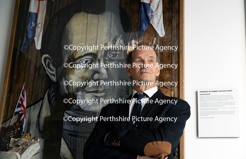 Falcon Scott Grandson of Captain Robert Falcon Scott pictured at Discovery Point, Dundee where he was officially opening the re-furbished gallery space….13.06.18<br />for further info please contact Gillian at Volpa on 07490 259009 or g.drummond@volpa.co.uk<br />Picture by Graeme Hart.<br />Copyright Perthshire Picture Agency<br />Tel: 01738 623350  Mobile: 07990 594431
