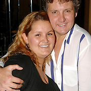 NLD/Hilversum/20061003 - 1e Tryout concert Rene Froger, Rene met zwangere dochter Natascha