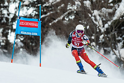 Anastasiia Silanteva (RUS) during the Ladies' Giant Slalom at 57th Golden Fox event at Audi FIS Ski World Cup 2020/21, on January 16, 2021 in Podkoren, Kranjska Gora, Slovenia. Photo by Vid Ponikvar