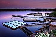 Sunset over Eriksö near Vaxholm in the Stockholm archipelago.