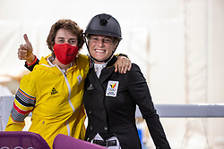 De Liedekerke-Meier Lara, Laeremans Wendy, BEL<br /> Olympic Games Tokyo 2021<br /> © Hippo Foto - Dirk Caremans<br /> 30/07/2021