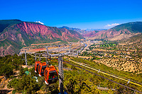 Aerial tram, Glenwood Caverns Adventure Park, Glenwood Springs, Colorado USA