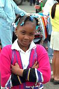 Happy Cinco de Mayo parade spectator age 11.  St Paul Minnesota USA