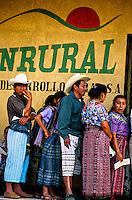 Local people, Santiago Atitlan, Lake Atitlan (Lago de Atitlan), Western Highlands, Guatemala