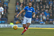Portsmouth Midfielder, Anton Walkes (2) chases down the ball during the EFL Sky Bet League 1 match between Portsmouth and Blackpool at Fratton Park, Portsmouth, England on 24 February 2018. Picture by Adam Rivers.